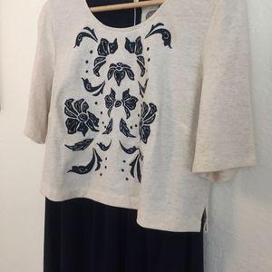 Anthropologie Dresses - Anthropologie Lilka Cotton Blend Dress